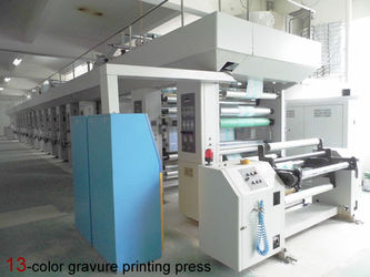 13-color gravure printing press