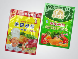China Recycled Flexible Plastic Food Packaging Bags Chicken Powder Pouch , Gravure Printing supplier