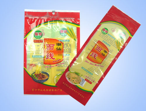 China Plastic Vacuum Pack Bags For Instant Food And Condiment , Three Side Seal supplier