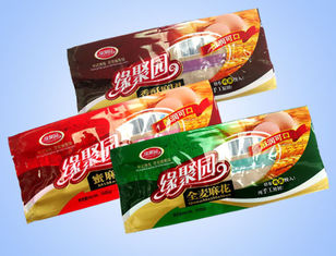 China Eco Friendly Plastic Snack Packaging Bags With Hang Hole / Zip Lock Pouches supplier