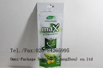 China OEM Bugslock Flexible Packaging Pouches With Hang Hole , Resealable Zip Lock Bags supplier