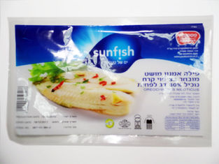 Custom Vacuum Frozen Food Bags For Beef , Seafood Plastic ...