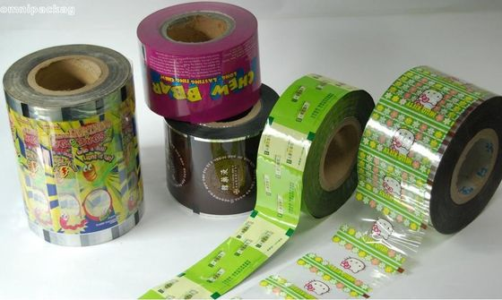 China Transparent Automatic Plastic Packaging Film Roll For Automatic Packing Machine supplier