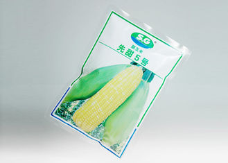 China Three Side Seal / Back Seal Vacuum Pack Bags For Food and Vegetable supplier