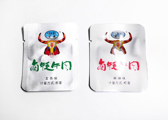 China Vacuum Sealed Aluminum Foil Packaging Bags For Meat / Three Side Seal Bag supplier