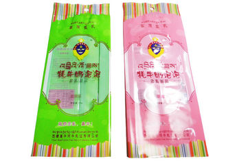 China Recycled Gravure Printed Snack Packaging Bags With Long Back Seal Bag supplier
