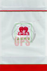 China Transparent Ziplock Flexible Pouch Packaging With Zipper / Recycled And Sealed supplier