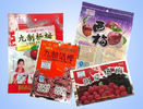 China Waterproof Gravure Printing Snack Packaging Bags , Food Three Side Seal Bag With Handhole distributor