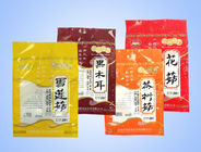 China OEM Disposable Plastic Food Packaging Bags Stand Up Pouch With Zipper factory