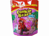 China Cookie Sweet Eco Friendly Food Packaging Color Printed Doypack With Ziplock factory