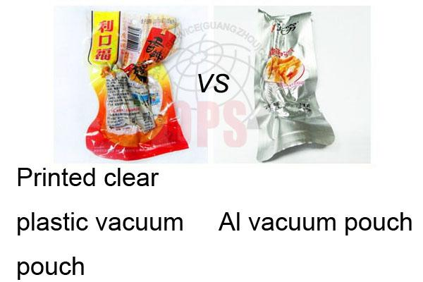 PET/ AL / PE Vacuum Pack Bags 50-180 micron With Aluminium Three Side Seal