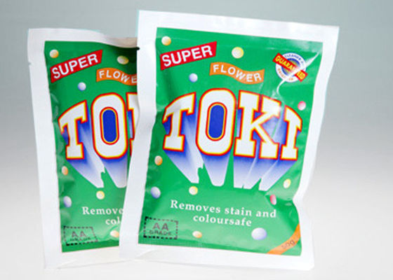 Plastic Flexible Packaging Pouches For Laundry Detergent / Washing Powder Bags , NY/PE Gravure printing bag