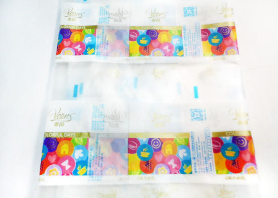 Automatic Frosted Effects PE Plastic Packaging Roll Film ISO27000 Certification