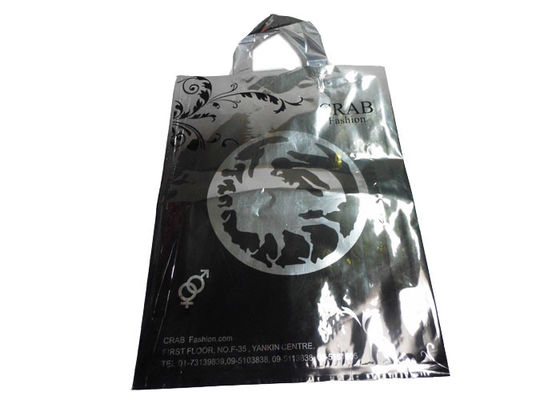 Aluminizing Shopping Personalized Printed Carrier Bags With Handle / Recyclable